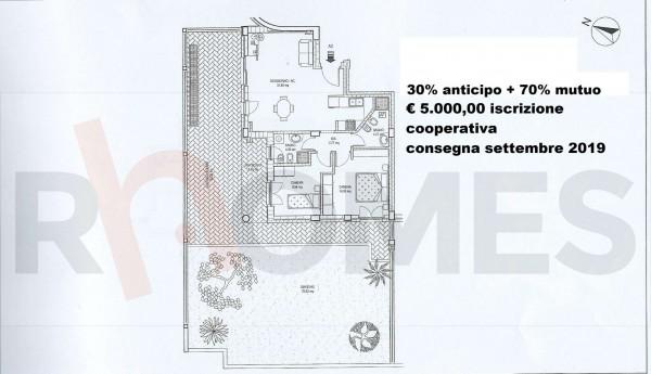 Appartamento in vendita a Ciampino, Morena, Con giardino, 82 mq - Foto 2