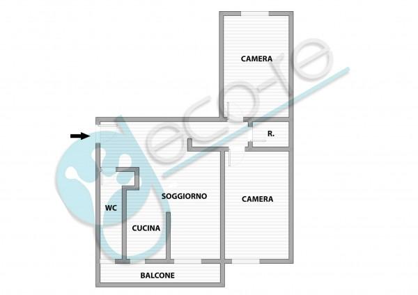 Appartamento in vendita a Milano, Piazza Tripoli, 85 mq - Foto 2