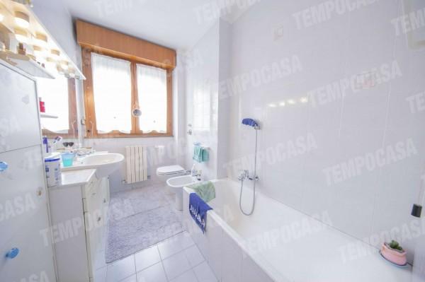 Appartamento in vendita a Milano, Affori Centro, Con giardino, 105 mq - Foto 24