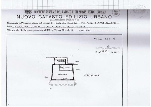 Casa indipendente in vendita a Montaldo di Mondovì, San Giacomo Di Roburent, Con giardino, 160 mq - Foto 3