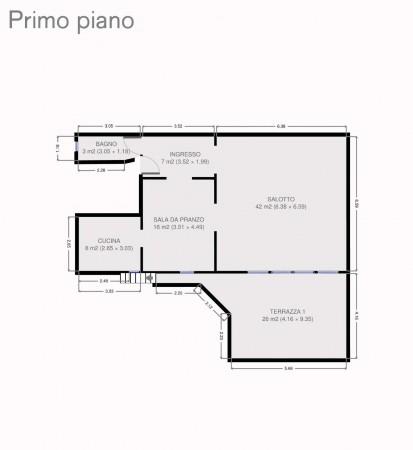 Villa in vendita a Fiesole, Arredato, con giardino, 216 mq - Foto 2