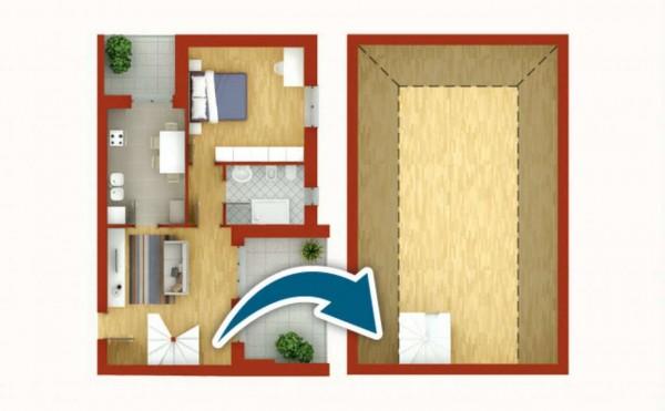 Appartamento in vendita a Pregnana Milanese, Semi-centrale, 80 mq - Foto 2