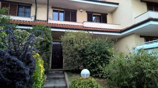 Villetta a schiera in vendita a Sedriano, Con giardino, 160 mq