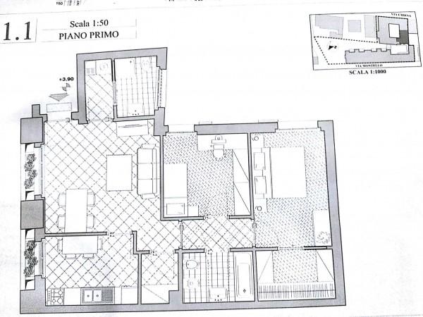 Appartamento in affitto a Vigevano, Residenziale, 89 mq - Foto 2