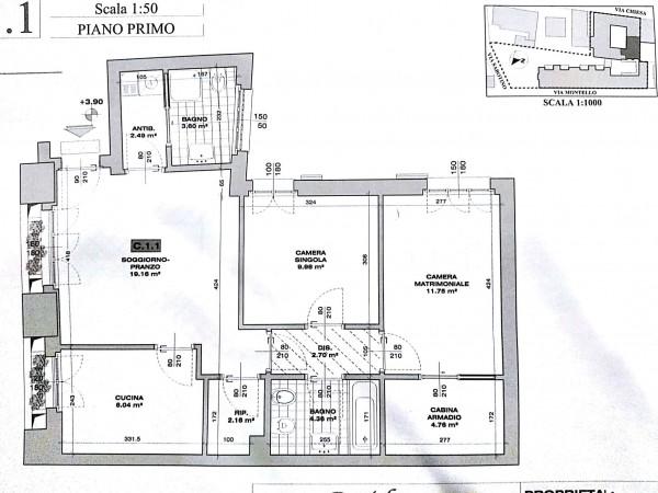 Appartamento in affitto a Vigevano, Residenziale, 89 mq - Foto 3
