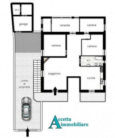 Villa in vendita a Taranto, Residenziale, Con giardino, 160 mq - Foto 2