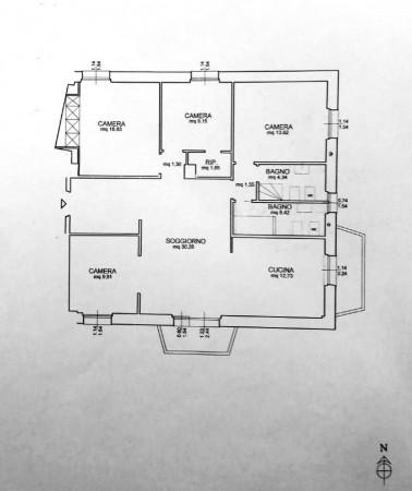 Appartamento in vendita a Genova, Sampierdarena, Con giardino, 130 mq - Foto 2