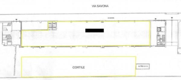 Locale Commerciale  in affitto a Milano, Via Savona, 500 mq - Foto 8