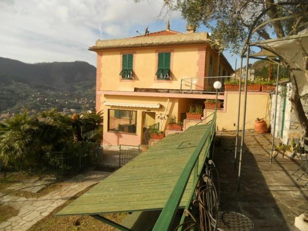 Appartamento in vendita a Santa Margherita Ligure, Prima Collina, Con giardino, 110 mq - Foto 15