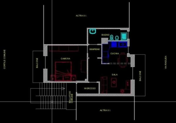Appartamento in vendita a Busto Arsizio, Cimitero, Arredato, con giardino, 60 mq - Foto 2