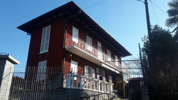 Casa indipendente in vendita a Somma Lombardo, Arredato, con giardino, 110 mq