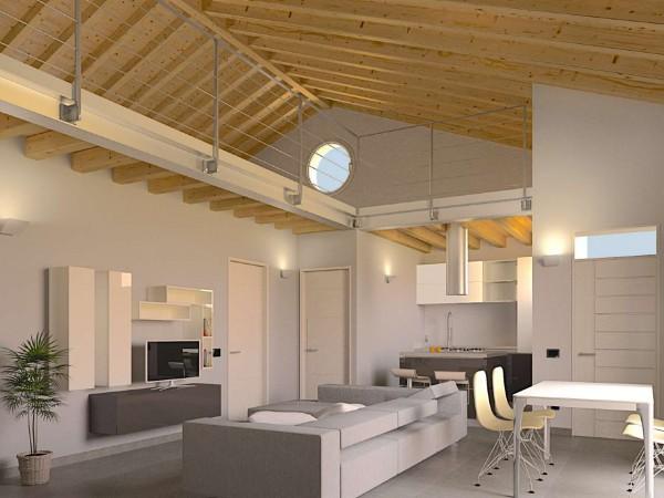 Appartamento in vendita a Cassano d'Adda, Naviglio, Con giardino, 63 mq
