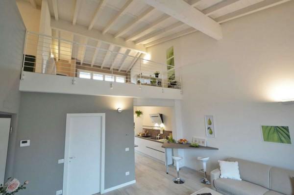 Appartamento in vendita a Cassano d'Adda, Naviglio, Con giardino, 55 mq - Foto 22