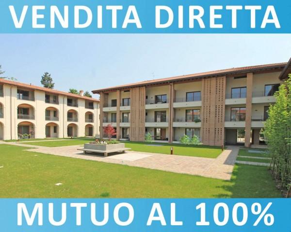 Appartamento in vendita a Cassano d'Adda, Naviglio, Con giardino, 55 mq - Foto 16
