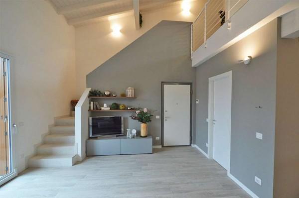 Appartamento in vendita a Cassano d'Adda, Naviglio, Con giardino, 55 mq - Foto 19