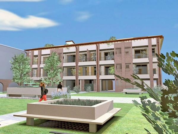 Appartamento in vendita a Cassano d'Adda, Naviglio, Con giardino, 55 mq - Foto 21