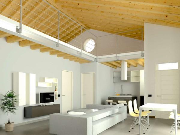 Appartamento in vendita a Cassano d'Adda, Naviglio, Con giardino, 55 mq - Foto 20