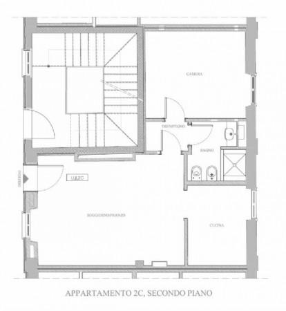 Appartamento in affitto a Milano, Porta Genova, Darsena, Arredato, 55 mq - Foto 12