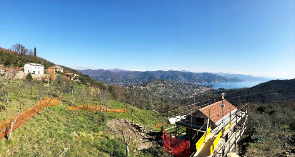 Casa indipendente in vendita a Santa Margherita Ligure, Dolcina Alta, Con giardino, 220 mq - Foto 6