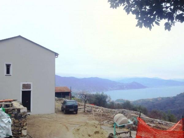 Casa indipendente in vendita a Santa Margherita Ligure, Dolcina Alta, Con giardino, 220 mq - Foto 21