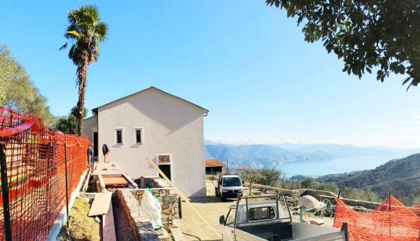 Casa indipendente in vendita a Santa Margherita Ligure, Dolcina Alta, Con giardino, 160 mq