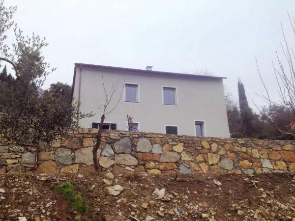 Casa indipendente in vendita a Santa Margherita Ligure, Dolcina Alta, Con giardino, 220 mq - Foto 12