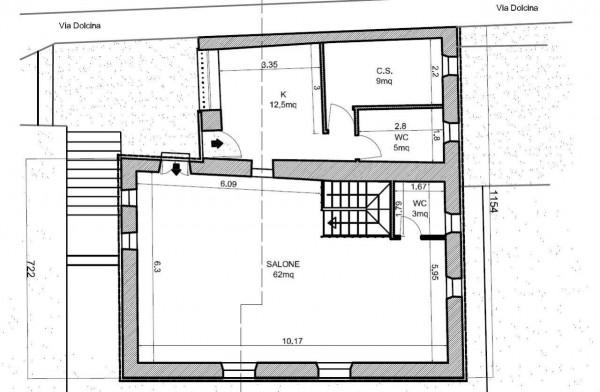 Casa indipendente in vendita a Santa Margherita Ligure, Dolcina Alta, Con giardino, 220 mq - Foto 11
