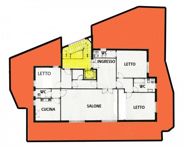 Appartamento in vendita a Roma, Monte Sacro, 180 mq - Foto 2