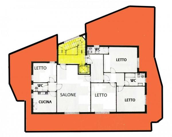 Appartamento in vendita a Roma, Monte Sacro, 180 mq - Foto 3