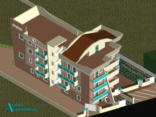 Appartamento in vendita a Taranto, Residenziale, Con giardino, 75 mq - Foto 8