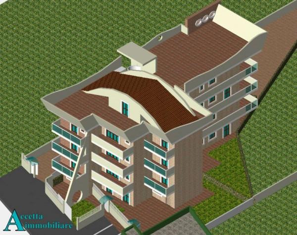 Appartamento in vendita a Taranto, Residenziale, Con giardino, 75 mq - Foto 7