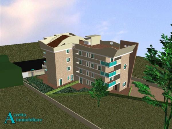 Appartamento in vendita a Taranto, Residenziale, Con giardino, 75 mq - Foto 3