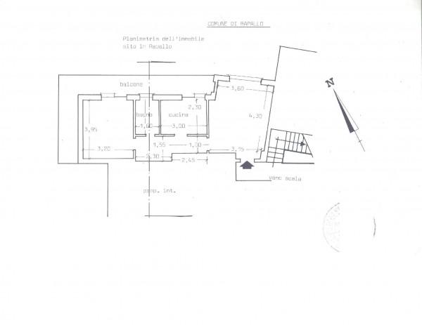 Appartamento in vendita a Rapallo, Valdettaro, 55 mq - Foto 2