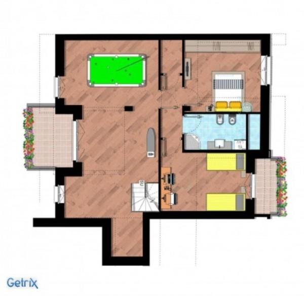 Appartamento in vendita a Cernusco sul Naviglio, Con giardino, 219 mq - Foto 21