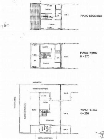 Villetta a schiera in vendita a Corbetta, Corbetta, Con giardino, 205 mq - Foto 36