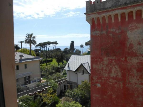 Appartamento in vendita a Genova, Passeggiata A Mare Di Nervi, Con giardino, 125 mq - Foto 8