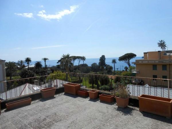 Appartamento in vendita a Genova, Passeggiata A Mare Di Nervi, Con giardino, 125 mq - Foto 19