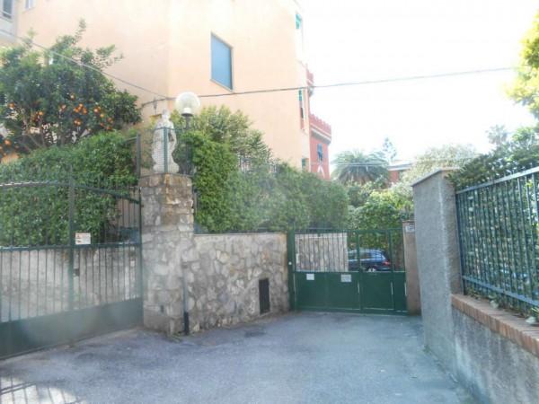 Appartamento in vendita a Genova, Passeggiata A Mare Di Nervi, Con giardino, 125 mq - Foto 4