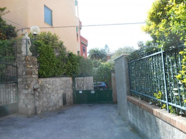 Appartamento in vendita a Genova, Passeggiata A Mare Di Nervi, Con giardino, 125 mq - Foto 5