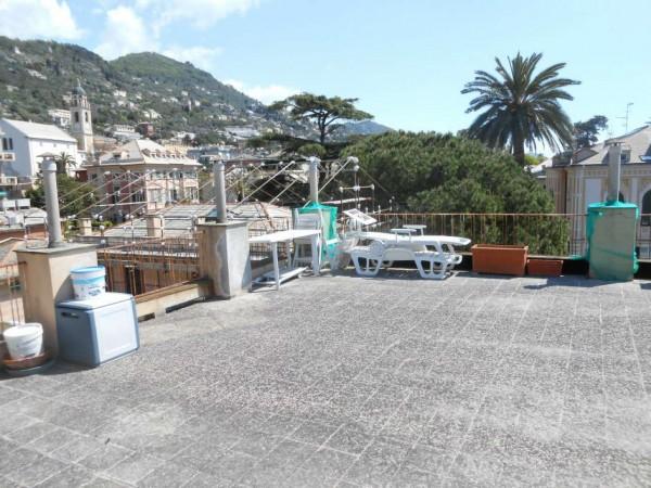 Appartamento in vendita a Genova, Passeggiata A Mare Di Nervi, Con giardino, 125 mq - Foto 22