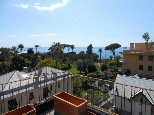 Appartamento in vendita a Genova, Passeggiata A Mare Di Nervi, Con giardino, 125 mq - Foto 13