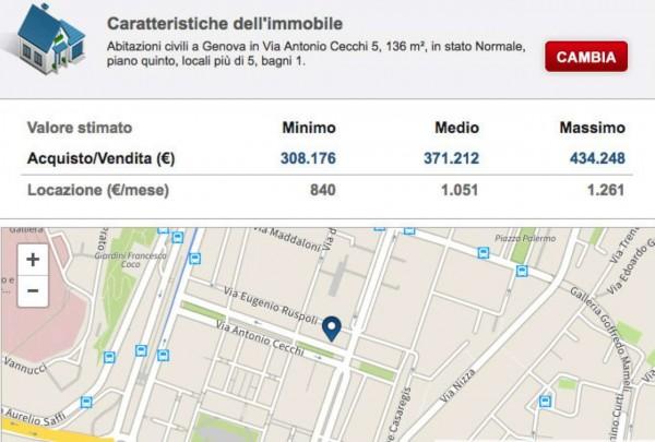 Appartamento in vendita a Genova, Foce, 136 mq - Foto 2