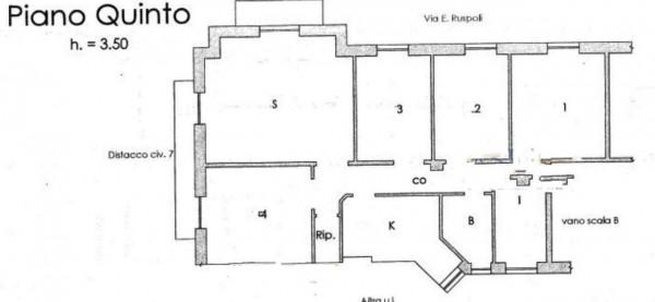 Appartamento in vendita a Genova, Foce, 136 mq - Foto 5