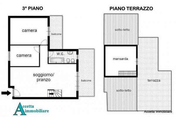 Appartamento in vendita a Taranto, Residenziale, 105 mq - Foto 2