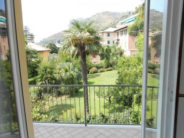Appartamento in vendita a Genova, Nervi Centro, Con giardino, 125 mq