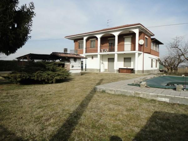 Villa in vendita a Alessandria, Cabanette, Con giardino, 180 mq