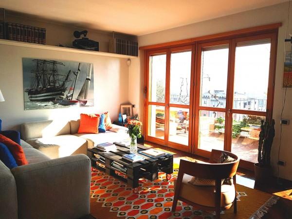 Appartamento in vendita a Milano, Con giardino, 130 mq - Foto 21
