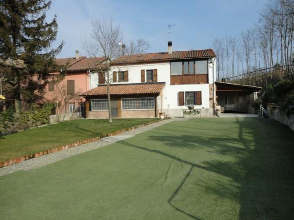 Villa in vendita a Alessandria, Valle San Bartolomeo, Con giardino, 170 mq