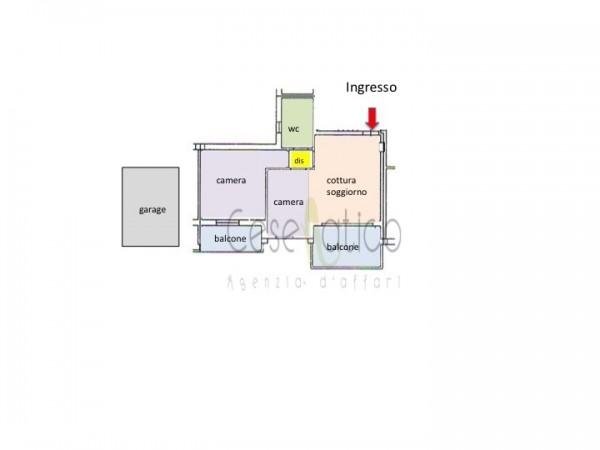 Appartamento in vendita a Gatteo, Con giardino, 70 mq - Foto 2