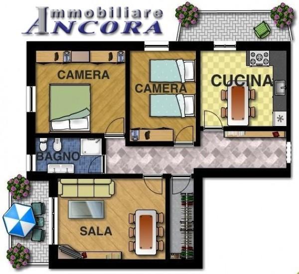 Appartamento in vendita a Lavagna, 100 mq